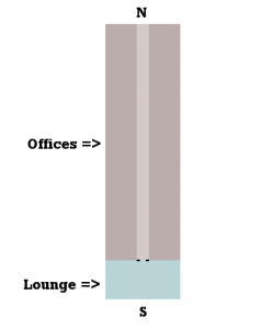 Diagram of my office